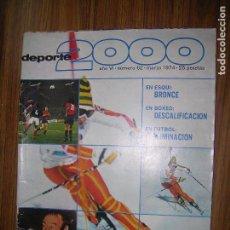 Coleccionismo deportivo: DEPORTE 2000 N62 AÑO 1974 . Lote 61568308