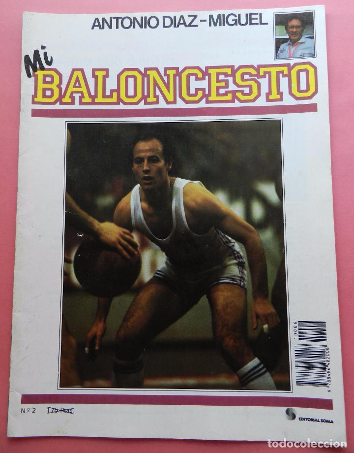 FASCICULO Nº 2 COLECCION MI BALONCESTO ANTONIO DIAZ MIGUEL-POSTER BLACKMAN DALLAS NBA-CORBALAN (Coleccionismo Deportivo - Revistas y Periódicos - otros Deportes)