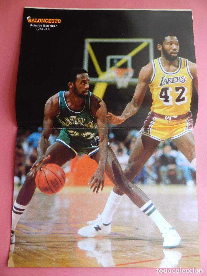 Coleccionismo deportivo: FASCICULO Nº 2 COLECCION MI BALONCESTO ANTONIO DIAZ MIGUEL-POSTER BLACKMAN DALLAS NBA-CORBALAN - Foto 4 - 61600668