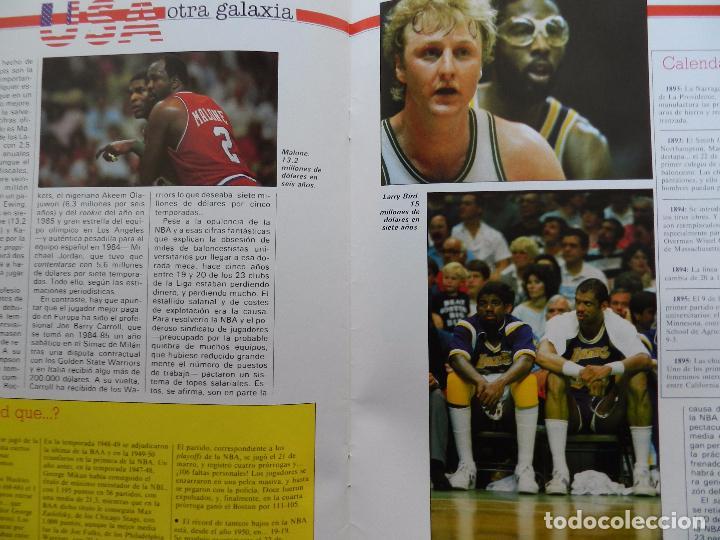 Coleccionismo deportivo: FASCICULO Nº 2 COLECCION MI BALONCESTO ANTONIO DIAZ MIGUEL-POSTER BLACKMAN DALLAS NBA-CORBALAN - Foto 5 - 61600668