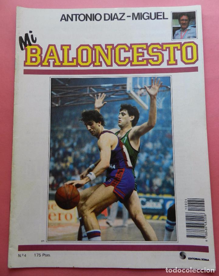 FASCICULO Nº 4 COLECCION MI BALONCESTO ANTONIO DIAZ MIGUEL-POSTER BERNARD KING KNICKS-EPI-NBA (Coleccionismo Deportivo - Revistas y Periódicos - otros Deportes)