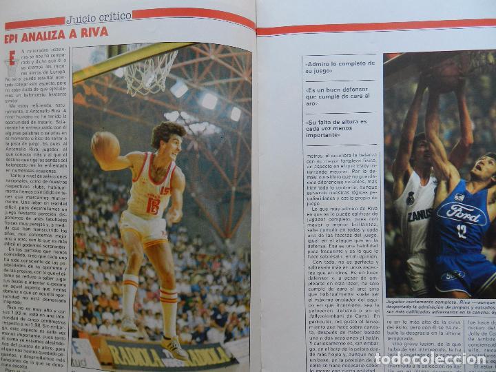 Coleccionismo deportivo: FASCICULO Nº 4 COLECCION MI BALONCESTO ANTONIO DIAZ MIGUEL-POSTER BERNARD KING KNICKS-EPI-NBA - Foto 3 - 61600764