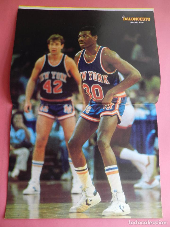 Coleccionismo deportivo: FASCICULO Nº 4 COLECCION MI BALONCESTO ANTONIO DIAZ MIGUEL-POSTER BERNARD KING KNICKS-EPI-NBA - Foto 4 - 61600764