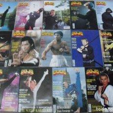 Coleccionismo deportivo: LOTE DE 15 REVISTAS DE ARTES MARCIALES ''DOJO''. Lote 62647080