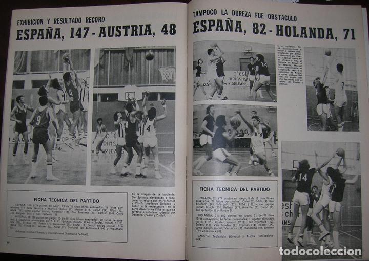 Coleccionismo deportivo: REVISTA REBOTE DE BALONCESTO, AÑO 1974, BASKET, AGOSTO / SEPTIEMBRE N.º 156-EXTRAORDINARIO - Foto 2 - 62935308
