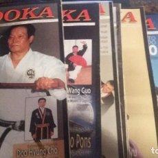 Coleccionismo deportivo: EL BUDOKA NÚMEROS 323 A 345 (FALTAN ALGUNOS QUE INDICO MÁS ABAJO). Lote 63003400