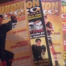 Coleccionismo deportivo: REVISTA CINTURON NEGRO NUMEROS 155 A 189 VENDO LOS QUE INDICO ABAJO. Lote 63004132