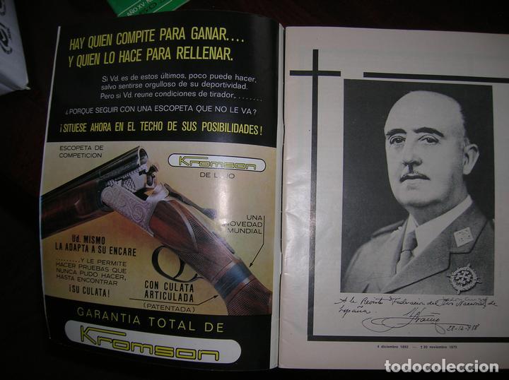 Coleccionismo deportivo: Revista informativa de la Federación Nacional del Tiro Olímpico Español - Foto 2 - 63451440