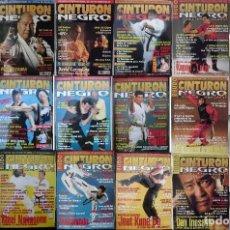 Bruce Lee - Lote de 18 revistas de artes marciales ''Cinturón negro''