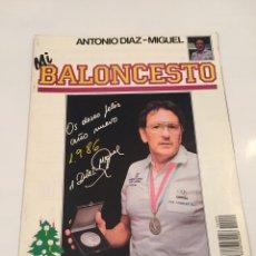 Coleccionismo deportivo: REVISTA 9 MI BALONCESTO ANTONIO DIAZ - MIGUEL. Lote 63691167