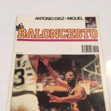 Coleccionismo deportivo: REVISTA 16 MI BALONCESTO ANTONIO DIAZ - MIGUEL JAMES WORTHY FLEMING. Lote 63691638