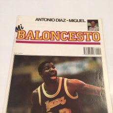 Coleccionismo deportivo: REVISTA 21 MI BALONCESTO ANTONIO DIAZ - MIGUEL MAGIC JOHNSON EPI. Lote 63692847