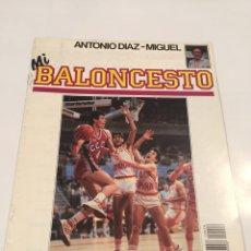 Coleccionismo deportivo: REVISTA 26 MI BALONCESTO ANTONIO DIAZ - MIGUEL VINNIE JOHNSON VOLKOV. Lote 63693871