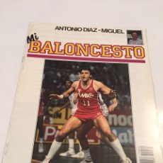 Coleccionismo deportivo: REVISTA 34 MI BALONCESTO ANTONIO DIAZ - MIGUEL MENEGHIN. Lote 63694501