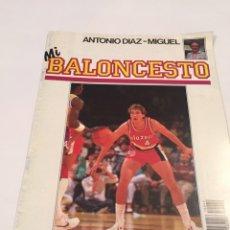 Coleccionismo deportivo: REVISTA 42 MI BALONCESTO ANTONIO DIAZ - MIGUEL JIM PAXON. Lote 63694962