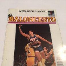 Coleccionismo deportivo: REVISTA 43 MI BALONCESTO ANTONIO DIAZ - MIGUEL REGGIE THEUS. Lote 63695093