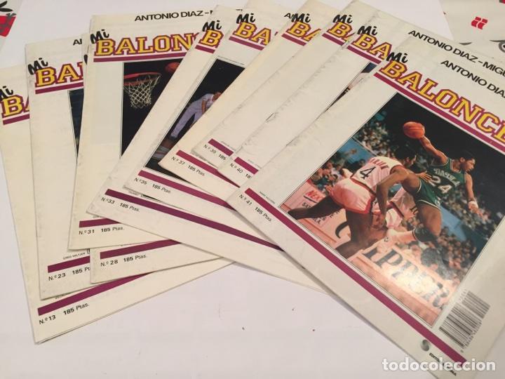 LOTAZO REVISTAS MI BALONCESTO ANTONIO DIAZ MIGUEL (Coleccionismo Deportivo - Revistas y Periódicos - otros Deportes)