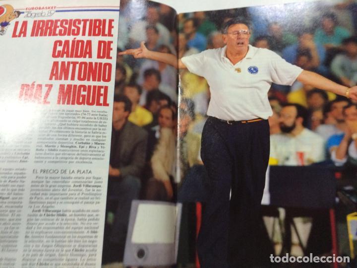 Coleccionismo deportivo: REVISTA GIGANTES DEL BASKET, NÚMERO 192, 10 JULIO 1989, PÓSTER VLADO DIVAC. - Foto 2 - 63748915