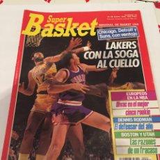 Coleccionismo deportivo: REVISTA SUPER BASKET NÚMERO 33. Lote 65422631