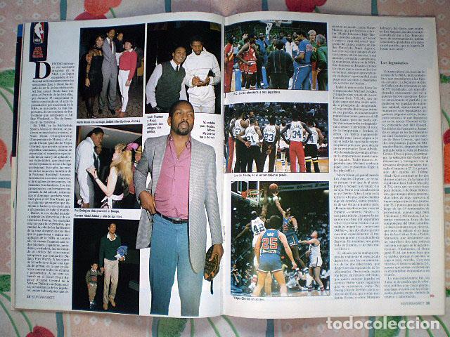 Coleccionismo deportivo: Revista Superbasket Super Basket nº 1 (marzo 1986) Incluye póster gigante SuperEpi Super Epi - Foto 4 - 65442526