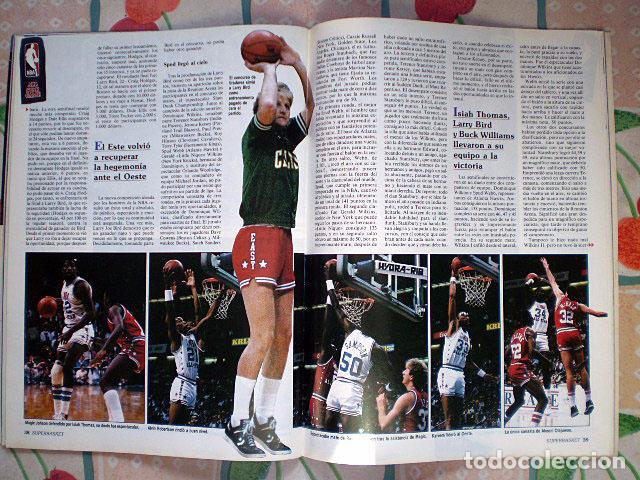 Coleccionismo deportivo: Revista Superbasket Super Basket nº 1 (marzo 1986) Incluye póster gigante SuperEpi Super Epi - Foto 6 - 65442526