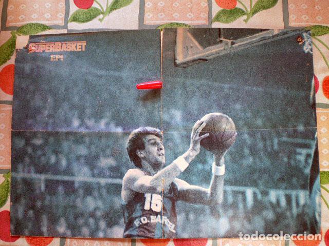 Coleccionismo deportivo: Revista Superbasket Super Basket nº 1 (marzo 1986) Incluye póster gigante SuperEpi Super Epi - Foto 7 - 65442526