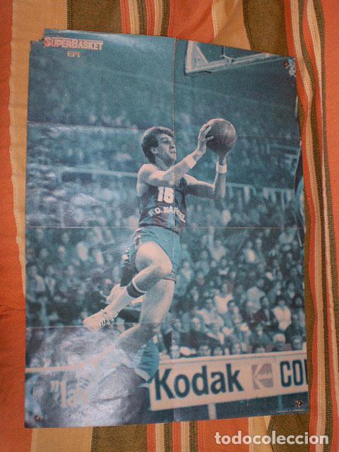 Coleccionismo deportivo: Revista Superbasket Super Basket nº 1 (marzo 1986) Incluye póster gigante SuperEpi Super Epi - Foto 9 - 65442526