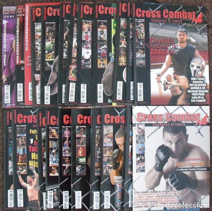 Coleccionismo deportivo: Colección completa de la revista de artes marciales mixtas (MMA) Cross combat (25 números) - Foto 2 - 66890574