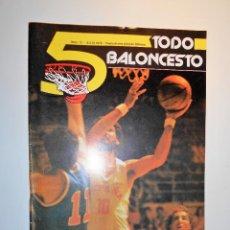Coleccionismo deportivo: REVISTA TODO BALONCESTO Nº 12. JULIO 1979. Lote 67119033