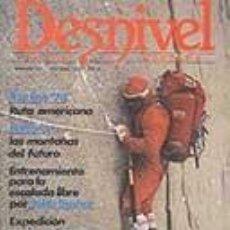 Coleccionismo deportivo: REVISTA DESNIVEL Nº 17. FEBREO-MARZO DE 1985. FITZ ROY, BALTORO, ANNAPURNA, CONTRERAS, YULUNG KANG. Lote 68372557