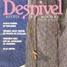 Coleccionismo deportivo: REVISTA DESNIVEL Nº 26. NOVIEMBRE-DICIEMBRE DE 1986. SUR DEL ACONCAGUA EN SOLITARIO, ISLAS BAFFIN. Lote 68375413