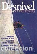 REVISTA DESNIVEL N° 35. MARZO 1988 (Coleccionismo Deportivo - Revistas y Periódicos - otros Deportes)