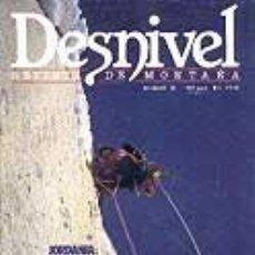 Coleccionismo deportivo: REVISTA DESNIVEL N° 35. MARZO 1988. Lote 68380610