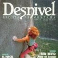 Coleccionismo deportivo: REVISTA DESNIVEL N° 36. ABRIL DE 1988. Lote 68380677