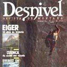 Coleccionismo deportivo: REVISTA DESNIVEL N° 46. ABRIL DE 1989. REVISTA DE MONTAÑA. Lote 68438413