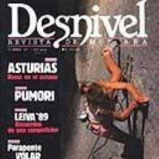 Coleccionismo deportivo: REVISTA DESNIVEL N° 47. 1989. REVISTA DE MONTAÑA. Lote 68438601