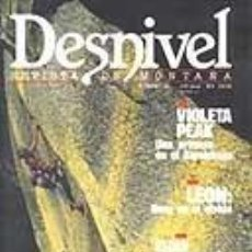 Coleccionismo deportivo: REVISTA DESNIVEL N° 51. DICIEMBRE DE 1989. REVISTA DE MONTAÑA. Lote 68439417