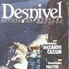 Coleccionismo deportivo: REVISTA DESNIVEL N° 52. ENERO DE 1990. REVISTA DE MONTAÑA. Lote 68439789