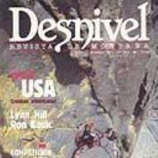 Coleccionismo deportivo: REVISTA DESNIVEL N° 56. 1990. REVISTA DE MONTAÑA. Lote 68441785