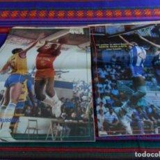 Coleccionismo deportivo: NUEVO BASKET NºS 137 Y 140. AÑO 1985. CON PÓSTERS DE MIKE PHILLIPS Y DAVE RUSSELL. BUEN ESTADO. Lote 68471505