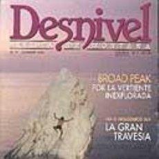 Coleccionismo deportivo: REVISTA DESNIVEL N° 77. OCTUBRE DE 1992 REVISTA DE MONTAÑA. Lote 68484437
