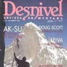 Coleccionismo deportivo: REVISTA DESNIVEL N° 89. NOVIEMBRE DE 1993. REVISTA DE MONTAÑA. Lote 68495097