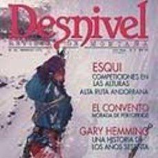 Coleccionismo deportivo: REVISTA DESNIVEL N° 92. FEBRERO DE 1994. REVISTA DE MONTAÑA. Lote 68496417