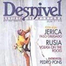 Coleccionismo deportivo: REVISTA DESNIVEL N° 97. JULIO/AGOSTO DE 1994. REVISTA DE MONTAÑA. Lote 68499577