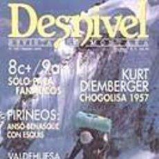 Coleccionismo deportivo: REVISTA DESNIVEL N° 104. MARZO DE 1995. Lote 68506505