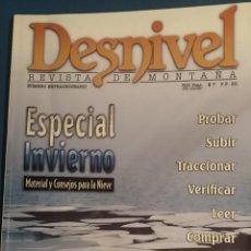 Coleccionismo deportivo: REVISTA DESNIVEL NUMERO EXTRAORDINARIO EXPECIAL INVIERNO 97/98 MATERIAL Y CONSEJOS PARA LA NIEVE. Lote 68584865
