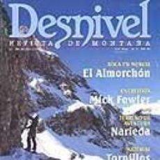 Coleccionismo deportivo: REVISTA DESNIVEL NUMERO 138. MARZO 1998. Lote 68585889