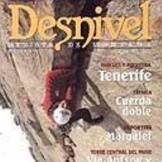 Coleccionismo deportivo: REVISTA DESNIVEL NUMERO 141. JUNIO 1998. PAREDES EN TENERIFE. Lote 68587205