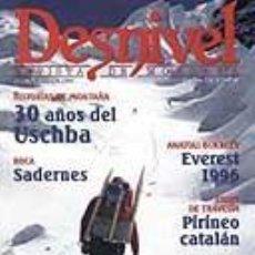 Coleccionismo deportivo: REVISTA DESNIVEL NUMERO 146. DICIEMBRE 1998. 30 AÑOS DEL USCHBA. Lote 68658665