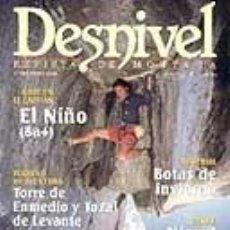 Coleccionismo deportivo: REVISTA DESNIVEL Nª 147 ENRO 1999. LANZAROTE. Lote 68707465